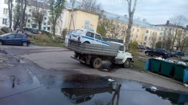 Автомобильные приколы. Классика жанра