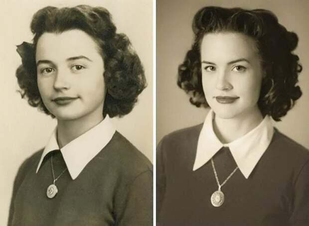 12. Бабушка и внучка дети, неожиданно, подборка, родители, семья, сравнение, тогда и сейчас, фото