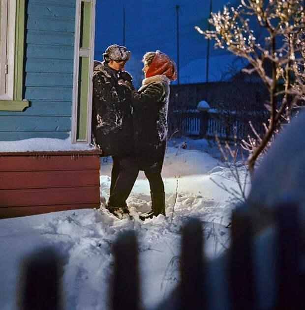 Зима в советских ретро-фотографиях