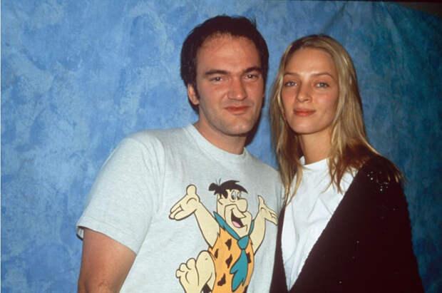 Квентин Тарантино и Ума Турман, 1995. / Фото: www.tumblr.com