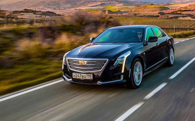 Cadillac CT6: тест-драйв с оглядкой на Трампа