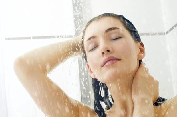 Холодный душ полезен и щитовидная железа