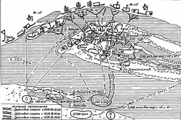 Остров Даманский. 15 марта 1969 года