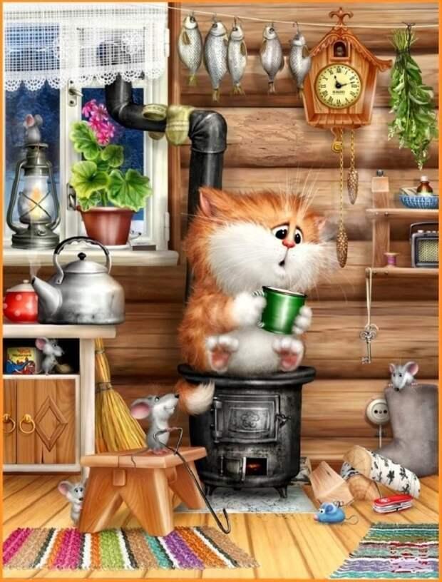 коты Алексея Долотова – 16