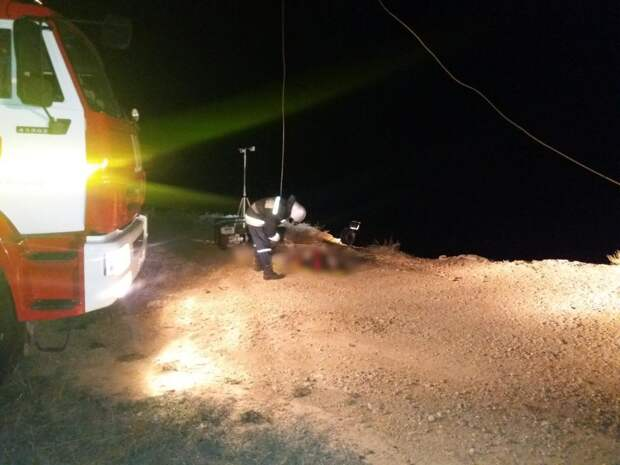В Севастополе машина сорвалась с обрыва. Водитель погиб