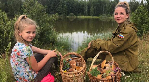 Российские леса дарят жителям богатый урожай белых грибов