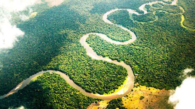 Вид на реку Конго