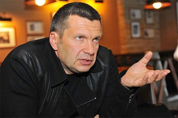 Соловьёва возмутил вид на жительство в Латвии Хаматовой