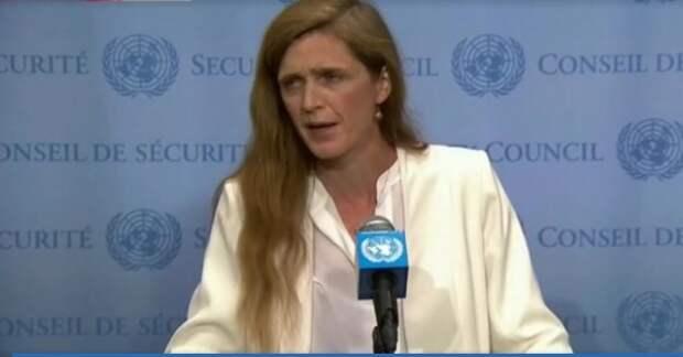 Нет, это не старая потасканная б... Это представитель США в ООН