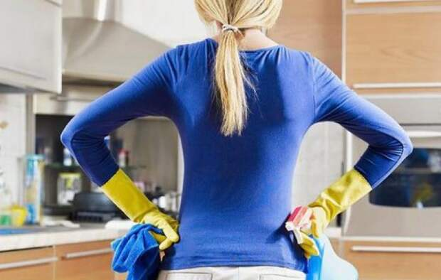Как я победила жирный налет в кухне за копейки