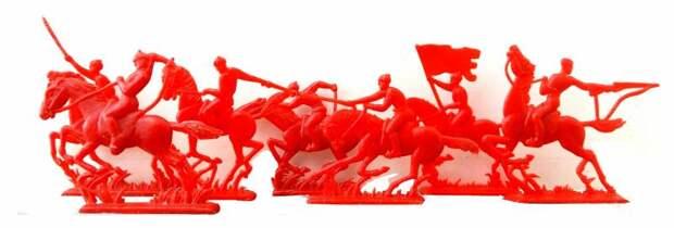 Красные и белые. Сражения солдатиков