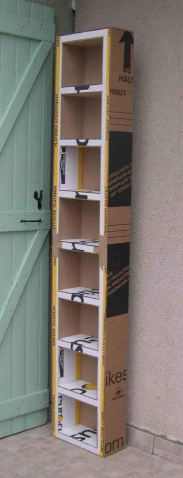 Гениальные идеи для дома из обыкновенного картона