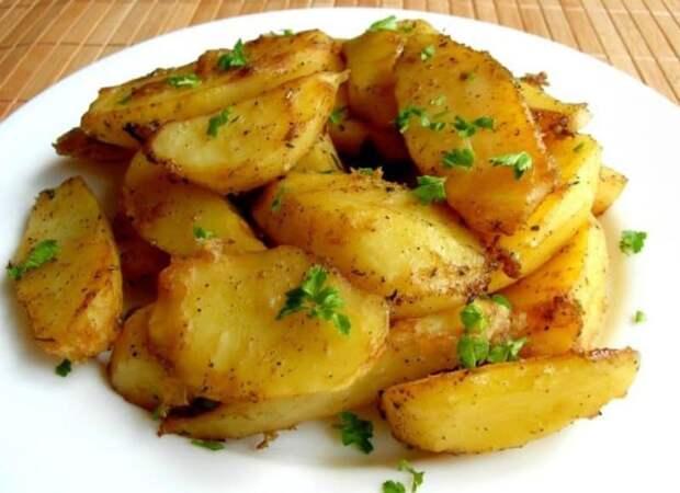 Картофель по - гречески