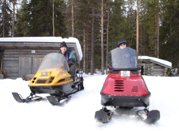 Завершение сезона снегоходов