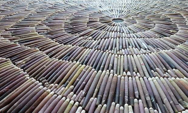 NATURAL ART: когда обычные природные материалы превращаются в произведения искусства