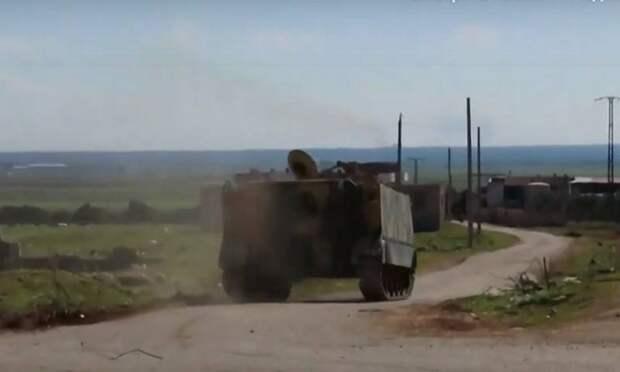 Сирийская армия третьи сутки удерживает позиции под ударами боевиков