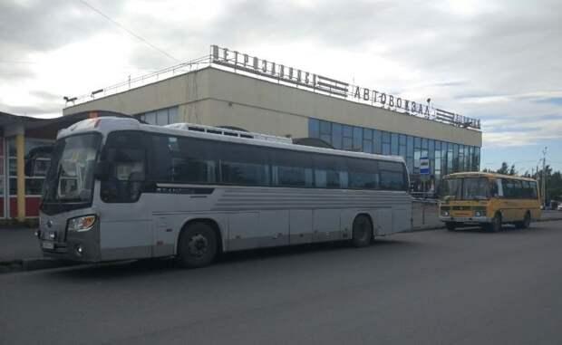 Опубликовано летнее расписание пригородных и междугородних автобусов