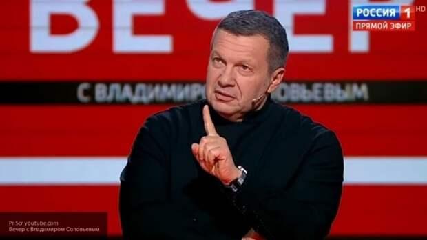 Соловьев навсегда выгнал украинского эксперта Ковтуна из своей программы