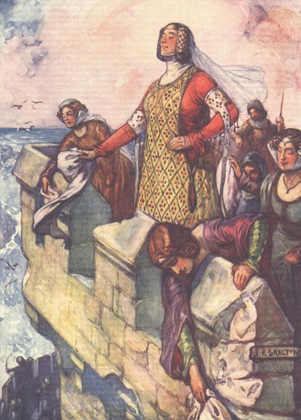 Львица, Секира и Пламенная Жанна: как женщины в Средние века становились воинами