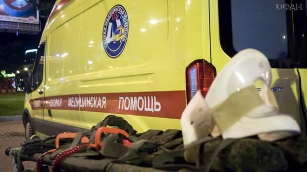 Мужчину с ожогами 90% тела доставили в больницу в Москве