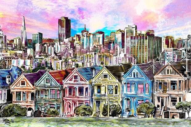Распродажа домов в Сан-Франциско, взлом замков в играх и обвал экспорта СПГ