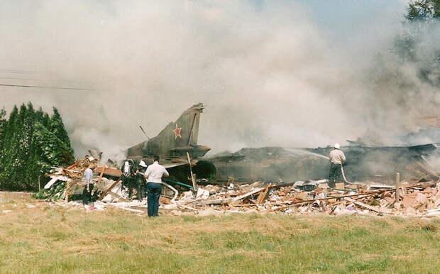 В инциденте погиб гражданский человек. |Фото: diecastaircraftforum.com.