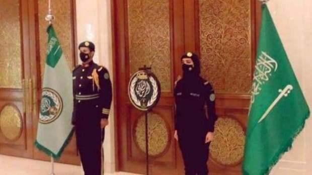 Женское лицо саудовских реформ: соцсети «взорвал» снимок женщины-гвардейца