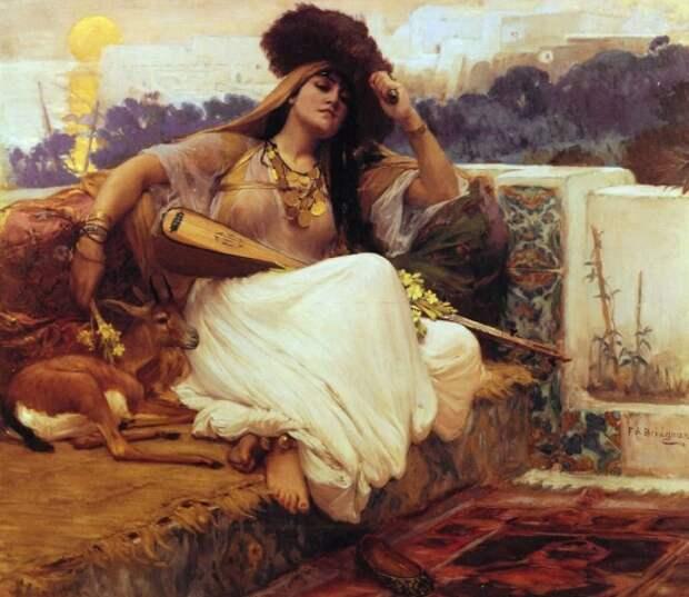 художник Фредерик Артур Бриджмен (Frederick Arthur Bridgman) картины – 39