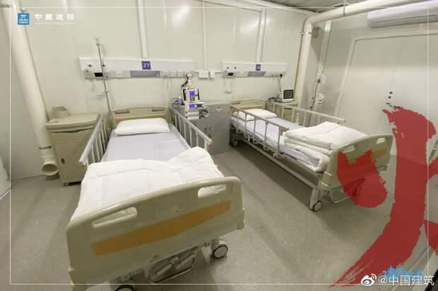 5 фото госпиталя в Ухане, который построили за 10 дней