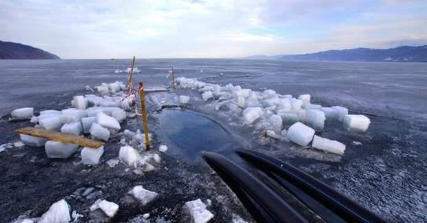 Воду Байкала выкачивают на продажу за рубеж