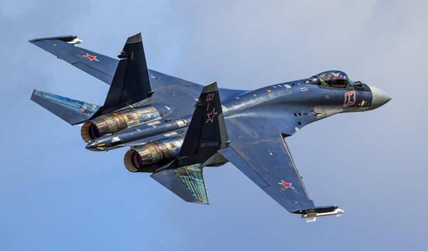 Су-35 рухнул в Охотском море после отказа двигателя