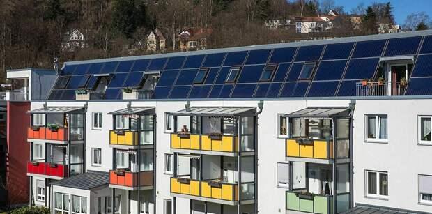 Дома «нулевой энергии» в Германии