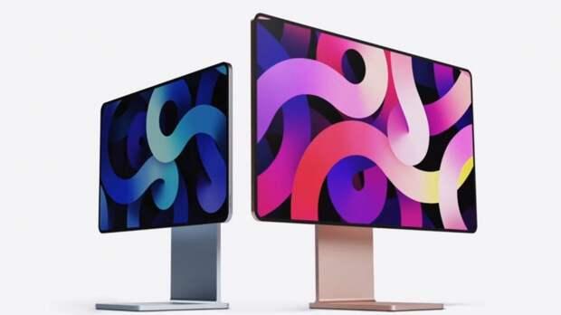 Предположительный дизайн моноблока iMac 2021 показали в Сети