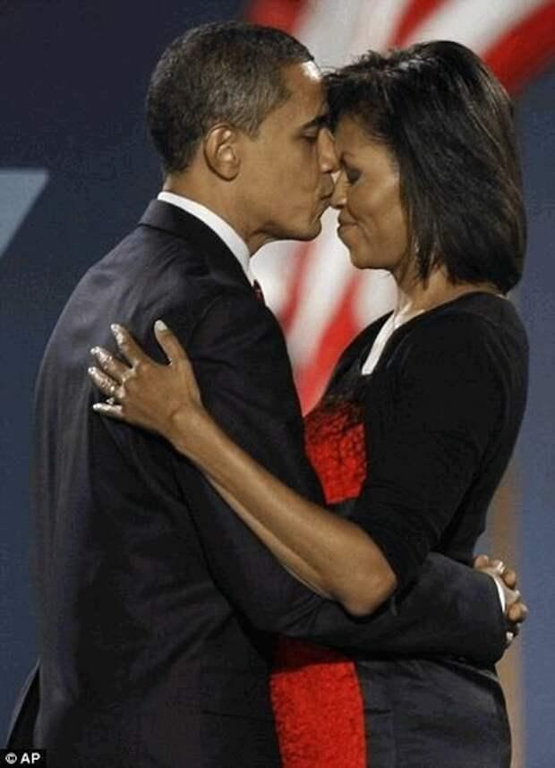 Красивая история любви Барак и Мишель Обама