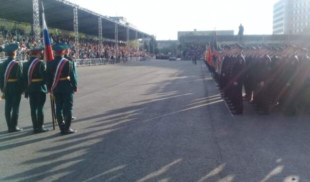 Каким увидят парад Победы оренбуржцы: хроника генеральной репетиции