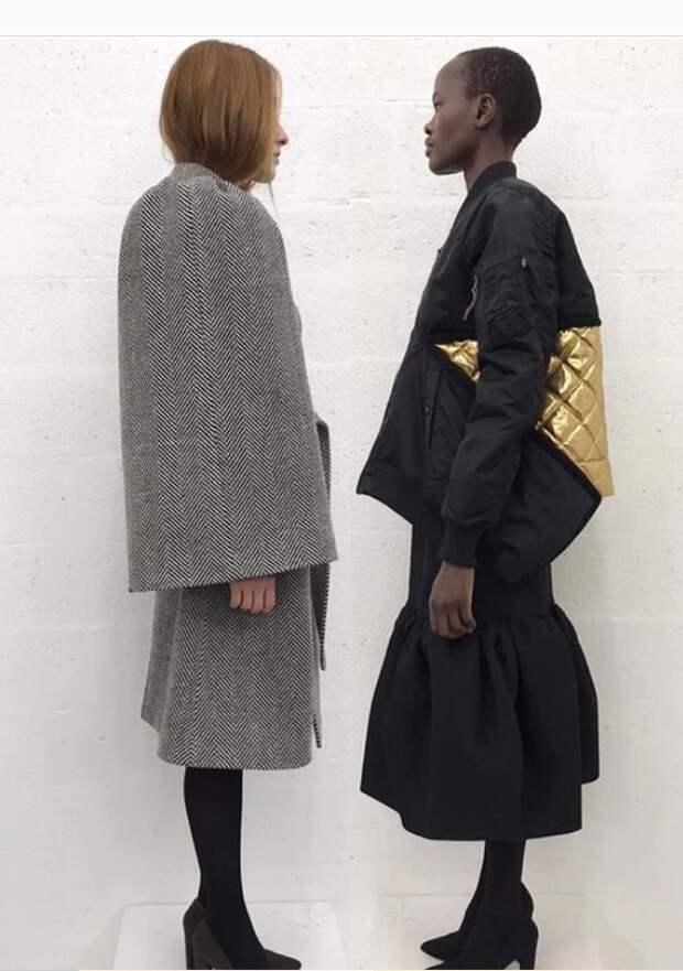 Переделки курток и пальто LUTZ HUELLE