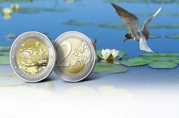 В Литве перепутали языки на памятных монетах