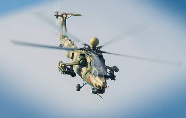 Разработчик сообщил, что Ми-28НМ способен взаимодействовать с беспилотниками-камикадзе