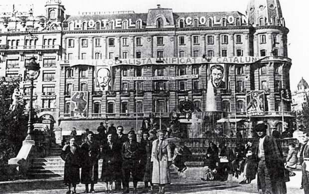 Барселона, июль 1936 года. taylorgenovese.com - Каталония: сепаратизм под сенью эстелады | Военно-исторический портал Warspot.ru