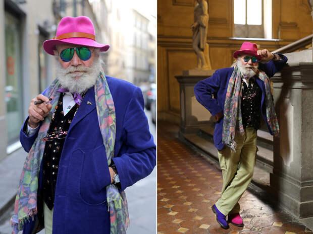 К черту эту вашу старость: стильные пожилые люди