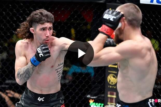 UFC Вегас 26: Людовит Клайн (Словакия) vs Майкл Тризано (США)