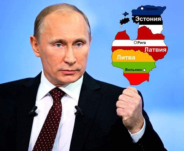 Из-за Путина Прибалтика раскалывается