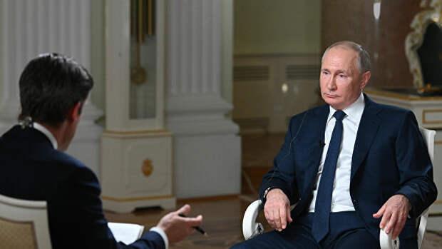 Путин считает маловероятным невмешательство США в дела других стран