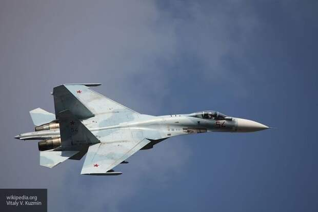 Маневр Су-27 над Балтийским морем обратил в бегство самолеты США