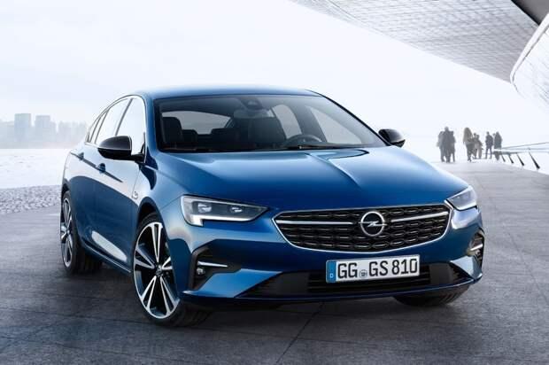 Opel обновил Insignia, добавив новые моторы