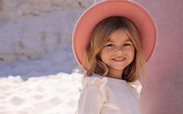 6-летняя россиянка признана самой красивой девочкой в мире