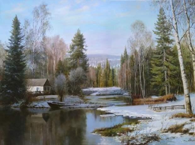 Весна на картинах великих русских художников