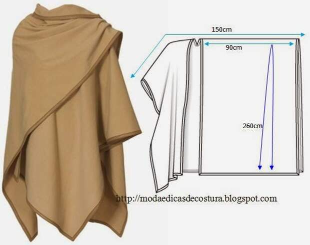 ROBE EASY TO MAKE - 2 ~ Fashion and Sewing Tips
