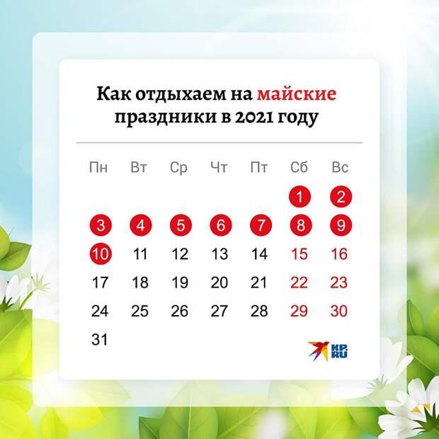 Главное о длинных майских выходных: Кому придется работать и что будет с зарплатами