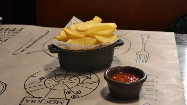 Картошка фри — настоящая калорийная бомба